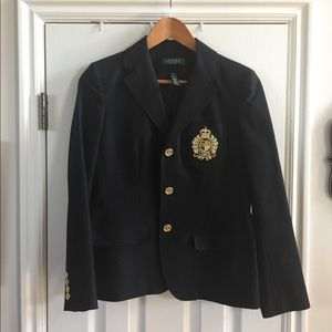 Ralph Lauren black blazer EUC like new